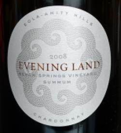 "Eola-Amity Hills (Oregon) Chardonnay ""Summum Seven Springs Vineyard"", Evening Land Vineyards 2008"