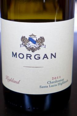 "Santa Lucia Highland Chardonnay ""Highland"", Morgan Winery 2011"