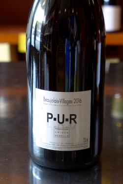 Beaujolais Villages Red, PUR (Production Unique Rebelle) 2016