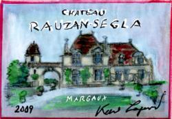 Margaux Grand Cru Classe 2nd Growth, Chateau Rauzan-Segla 2009