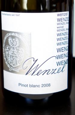 Pinot Blanc, Wenzel Winery (Rust, Bergenland) 2008