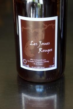"Vin de France Red, ""Les Joues Rouges"", La Coulee d'Ambrosia 2014"
