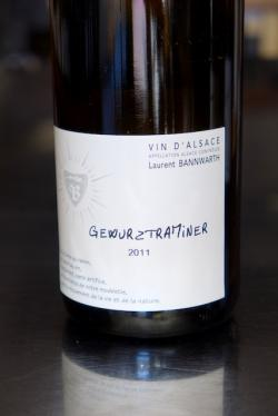 Vin d'Alsace Gewurztraminer Nature, Laurent Bannwarth 2011