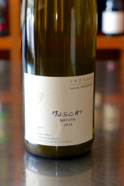 "Vin d'Alsace Muscat ""Nature"", Domaine Laurent Bannwarth 2014"
