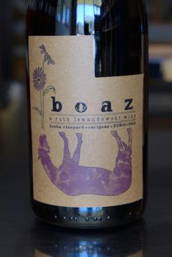 "American Dry Red Wine ""Boaz"" Carignan Testa Vineyard, Ruth Lewandowski (Utah) 2013"