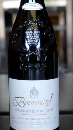 Chateauneuf du Pape Rouge, Boisrenard (Paul Coulon) 1998
