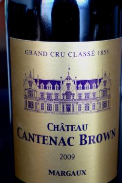 Margaux (Third Growth), Chateau Cantenac-Brown 2009