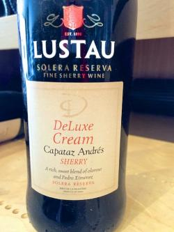 "Sherry DO Deluxe Cream Solera Reserva ""Capataz Andres"" NV 375ml"
