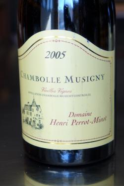 "Chambolle-Musigny ""Vieilles Vignes"", Domaine Henri Perrot-Minot 2005"