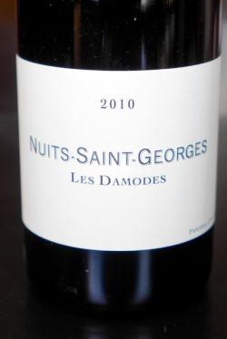 Nuits Saint-Georges Premier Cru Les Damodes, Frederic Cossard 2010