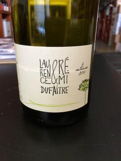 Beaujolais Villages Blanc, Laurence & Remi Dufaitre 2015