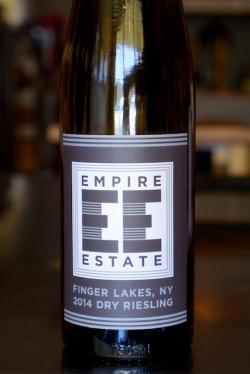Finger Lakes Dry Riesling, Empire Estate 2014