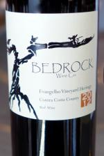 "Contra Costa County Red "" Evangelho Vineyard Heritage"", Bedrock Wine Co. 2012"