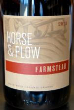 "North Coast California ""Farmstead"" Red, Horse & Plow Winery 2013"
