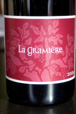 "Vin de France Syrah ""Peter's Vineyard"", La Gramiere 2009"
