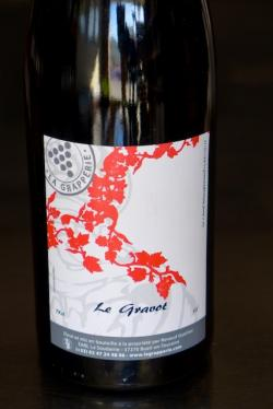 "Vin de France Red ""Le Gravot"", La Grapperie 2011"