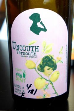 "Brooklyn Dry Vermouth ""Hops"", Uncouth Vermouth NV 500ml"