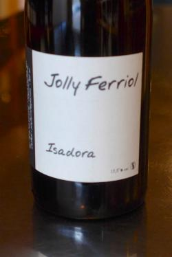 "Vin de France White, ""Isadora"", Jolly Ferriol 2014"