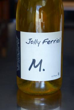 "Vin de France White ""M,"" Jolly-Ferriol 2014"