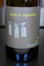 Willamette Valley Riesling, Love & Squalor 2012