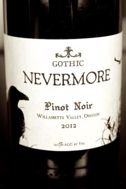 "Willamette Valley Pinot Noir ""Nevermore"", Gothic Winery 2012 1.5L"