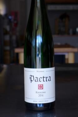 "Willamette Valley Riesling ""Eola-Amity Hills,"" Paetra Wine Company 2014"