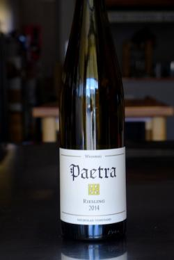 "Willamette Valley Riesling ""Nicholas Vineyard - Chehalem Mountains,"" Paetra Wine Company 2014"