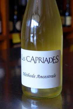 "French Sparkling Wine Methode Ancestrale ""Pepin la Bulle"", Les Capriades (2013)"