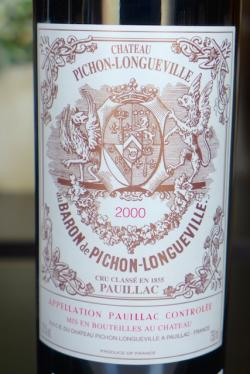 Pauillac 2nd Growth, Chateau Pichon-Longueville 2000