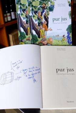 Pur Jus in French By Justine Saint-lo and Fleur Godart (special inscribed copy)