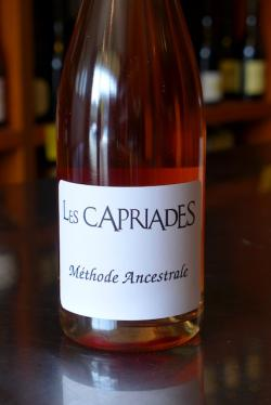 "French Sparkling Rose Methode Ancestrale ""Pynoz"", Les Capriades (2015)"
