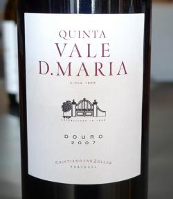Douro Red, Quinta do Vale Dona Maria 2007