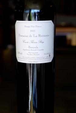 "Banyuls Vin Doux Naturel Rimage ""Cuvee Therese Reig,"" Domaine de la Rectorie 2013 500ml"