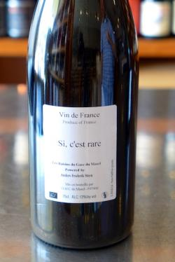 "Vin de France Red ""Si c'est rare"", Anders Frederik Steen 2014"