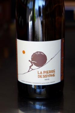 "Vin de Pays de Caux Blanc ""La Pierre de Sisyphe,"" Domaine Bories Jefferies 2013"