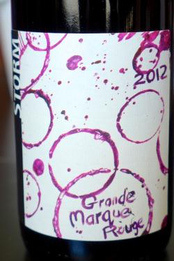 "Santa Ynez Valley Red ""Grand Marque Rouge"", Storm Wines 2012"