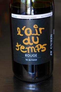 Vin de France Red, L'Air du Temps 2014