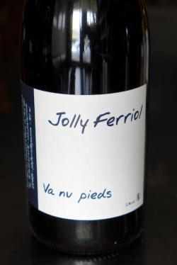 "Vin de France Red ""Va nu pieds,"" Domaine Jolly Ferriol 2014"